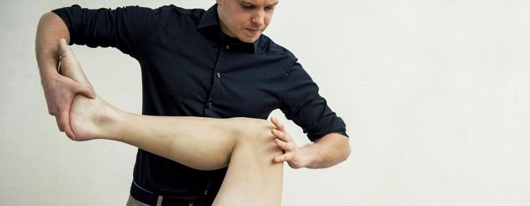 Ankelskade eller skade i ankel og led kan en osteopat behandle effektivt